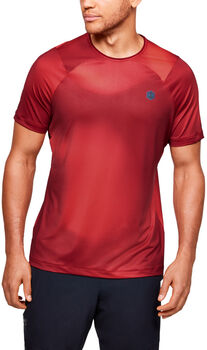 Under Armour HeatGear Rush Fitted T-Shirt Herren rot