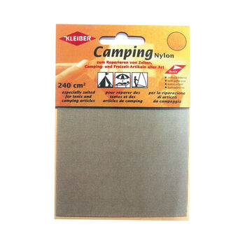 Kleiber Camping-Reparaturset Nylonflicken cremefarben