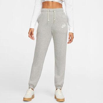 Nike Sportswear Gym Vntg Jogginghose Damen grau