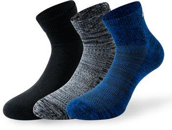 Lenz Performance Quarter Socken blau