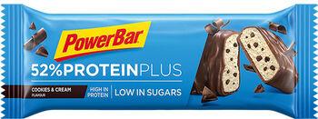 PowerBar  52% Protein Plus Riegel cremefarben