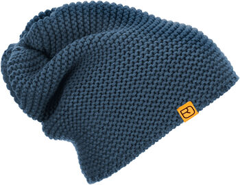 ORTOVOX Heavy Bauge Beanie Mütze blau
