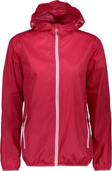 CMP Fix Hood Regenjacke mit Kapuze Damen pink