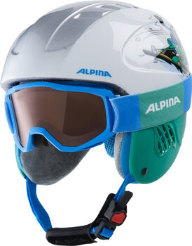 ALPINA Carat Disney Skihelm Set weiß