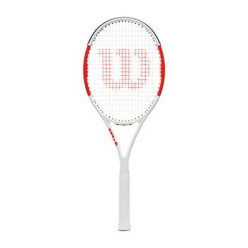 Wilson Six One 95 Team Tennisschläger weiß