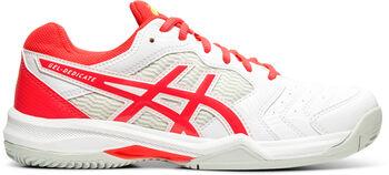 Asics Gel-Dedicate 6 Clay Tennisschuhe Damen weiß