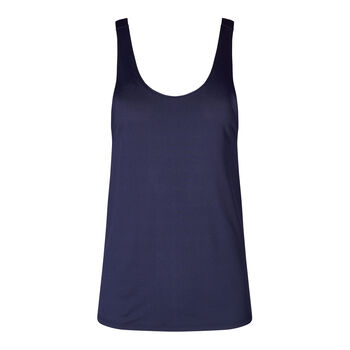 Skiny SK86 Trend Tank Top Damen blau