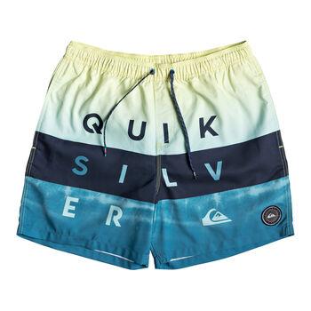 Quiksilver Word Block 17 Badeshorts Herren blau