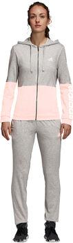 ADIDAS Cotton Marker Trainingsanzug Damen grau