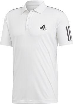 ADIDAS 3-Streifen Club Poloshirt Herren weiß