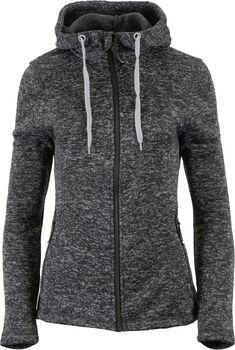 GTS  Lady Jacket Knitted Ho.Da. Fleecejacke mit Kapuze Damen grau