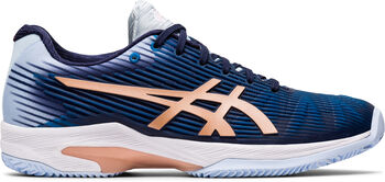 Asics Solution Speed FF CL Tennisschuhe Damen blau