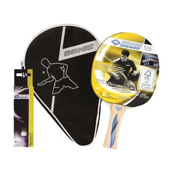 DONIC Ovtcharov 500 1er Set Tischtennis Schlägerset gelb
