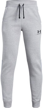 Under Armour EU Cotton Fleece Jogginghose Jungen grau