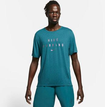 Nike Dri-FIT Miler Run Division T-Shirt Herren blau