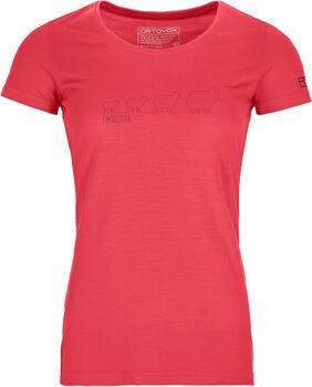ORTOVOX 150 Cool Ewoolution T-Shirt Damen orange