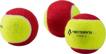TECNOPRO Bash Stage 3 Tennisbälle gelb