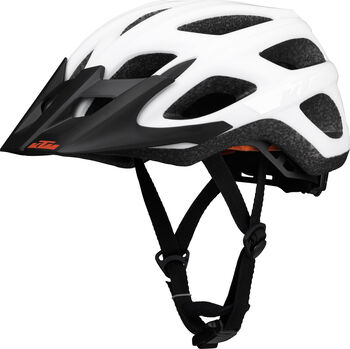 KTM Factory Character Fahrradhelm weiß