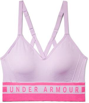 Under Armour Seamless Longline Sport-BH Damen lila
