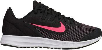Nike Downshifter 9 (GS) Laufschuhe schwarz