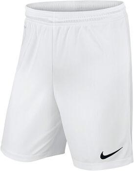 Nike Park II Knit Fußballshort weiß