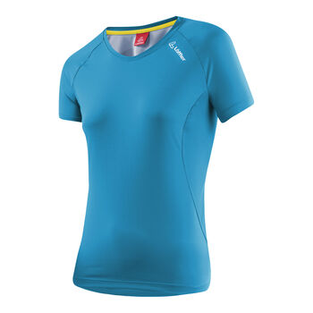 LÖFFLER V-Shirt Damen blau