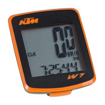 KTM 7 Team Radcomputer schwarz