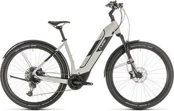 "CUBE Nuride Hybrid EXC 625 Allroad Easy Entry E-Mountainbike 29"" grau"