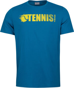 Head Vision Font T-Shirt blau
