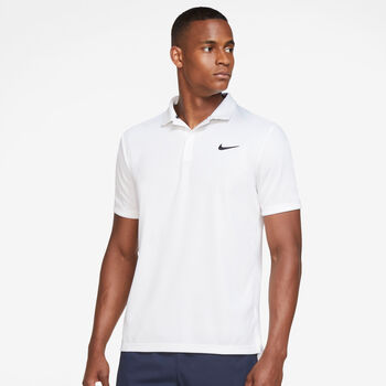 Nike Court Dri-FIT Victory T-Shirt Herren weiß
