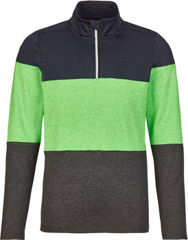 killtec Midlayer mit Zipp grün