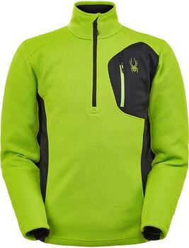Spyder M Bandit Fleecesweater mit Halfzip  Herren grün