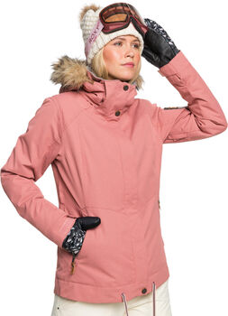 Roxy Meade Snowboardjacke mit Kapuze Damen pink