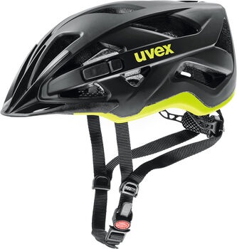 Uvex Active CC Fahrradhelm schwarz