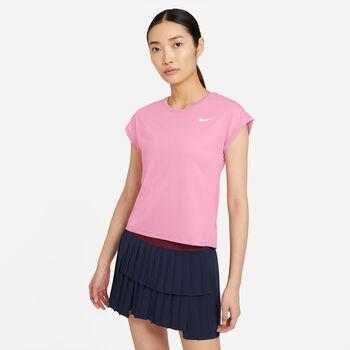 Nike Court Dri-FIT Victory T-Shirt Damen pink