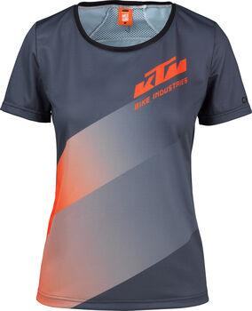 KTM  Character Lady Da. Rad-shirt,100% PES,Rückentasche Damen grau