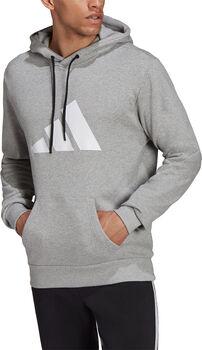 adidas Future Icons Logo Graphic Hoodie Herren grau