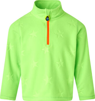 McKINLEY Tibo II Fleece Langarmshirt grün