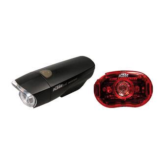 Batterie-Lampenset