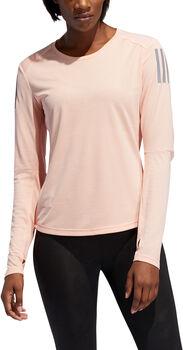 adidas Own the Run Langarmshirt Damen pink
