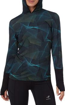 ENERGETICS Cassia Langarmshirt mit Kapuze Damen blau