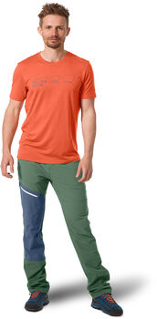 ORTOVOX 150 Cool Ewoolution T-Shirt Herren orange