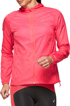 Asics PACKABLE Laufjacke Damen pink