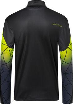 Webstrong T-Neck Langarmshirt mit Halfzip