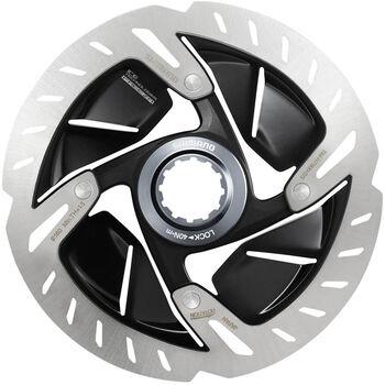 Shimano Rotor Centerlock Bremsbeläge weiß