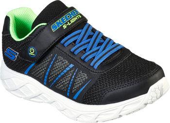 Skechers S Lights: Dynamic Flash Fitnessschuhe schwarz