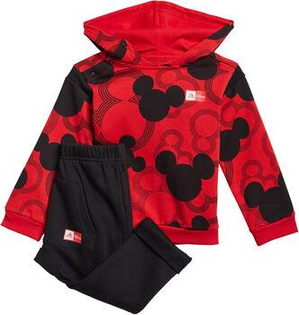 adidas Mickey Mouse Jogginganzug rot
