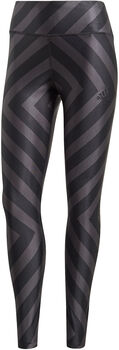 adidas Allover Graphic 7/8-Tight Damen schwarz