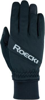 Roeckl Rofan Fahrrad Handschuhe schwarz