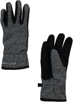 Spyder Bandit Strick Glove Skihandschuhe Damen schwarz